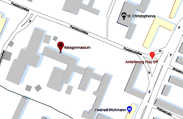 Aula Ratsgymnasium Wolfsburg